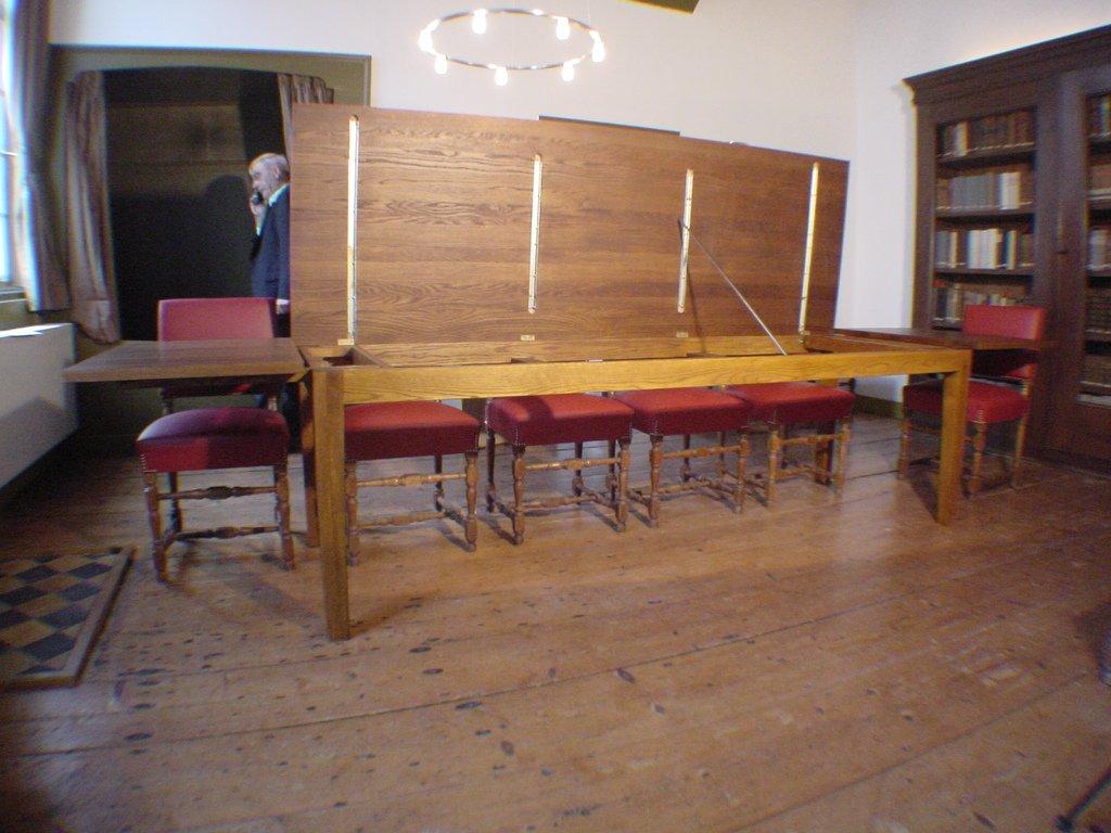 Conferentietafel Bibliotheca Thysiana, Leiden