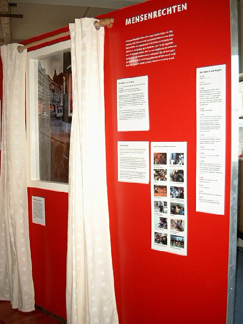 Tentoonstelling 'Wereldhuis' voor COS