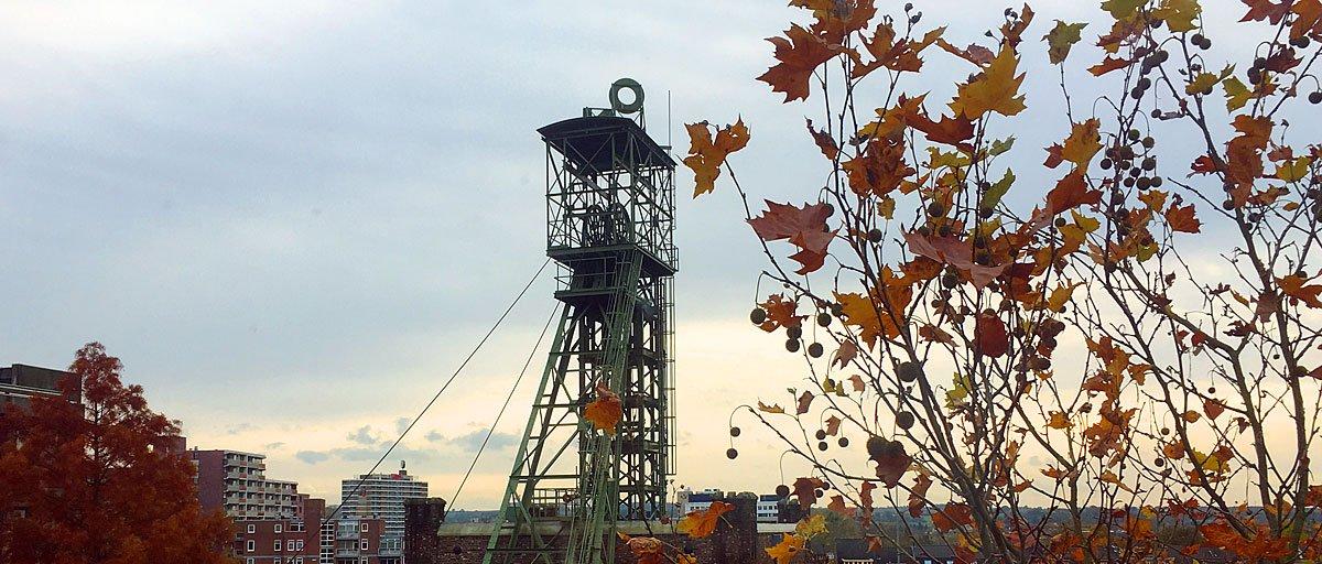 kantoor sdertien carbon6 heerlen uitzicht herfst