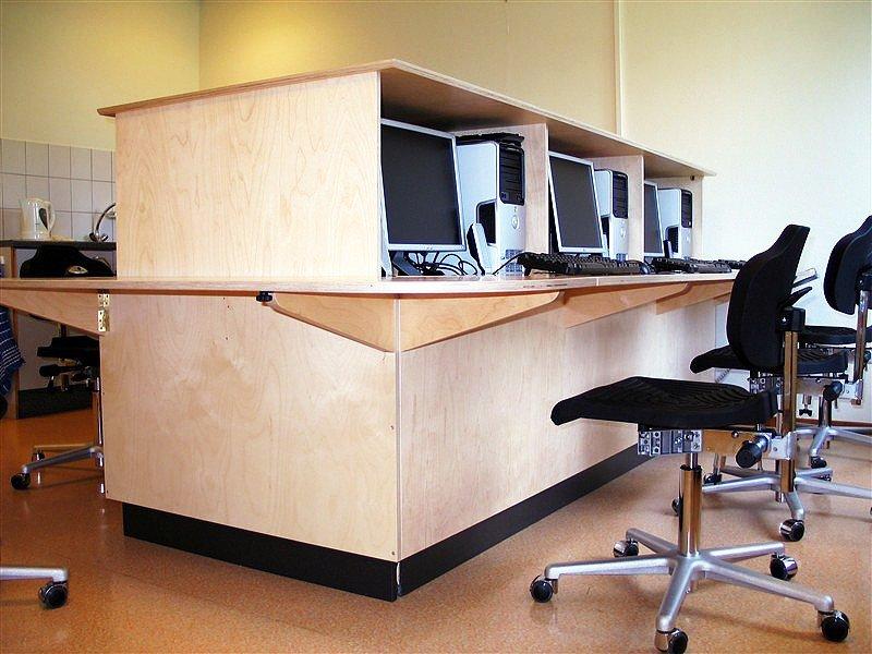 Multifunctioneel meubel voor cursus en vergaderen