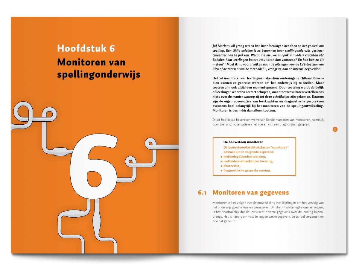 Binnenwerk van een boek voor CPS over effectief taalonderwijs
