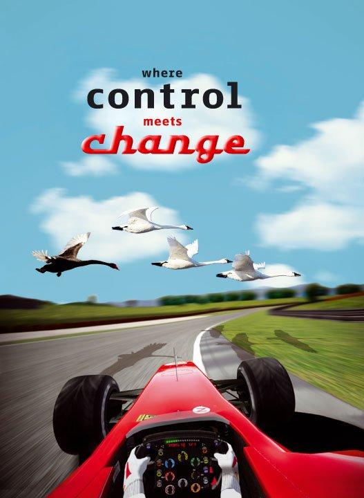 """afbeelding voor het jaarcongres van het Controllers Instituut """"when control meets change"""""""