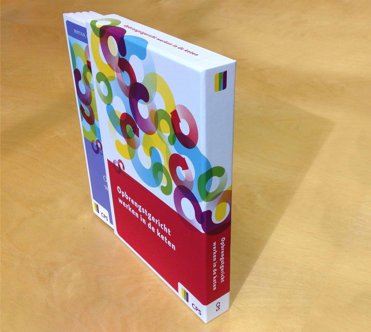 cassette foedraal boeken cartonnage voor CPS onderwijsontwikkeling