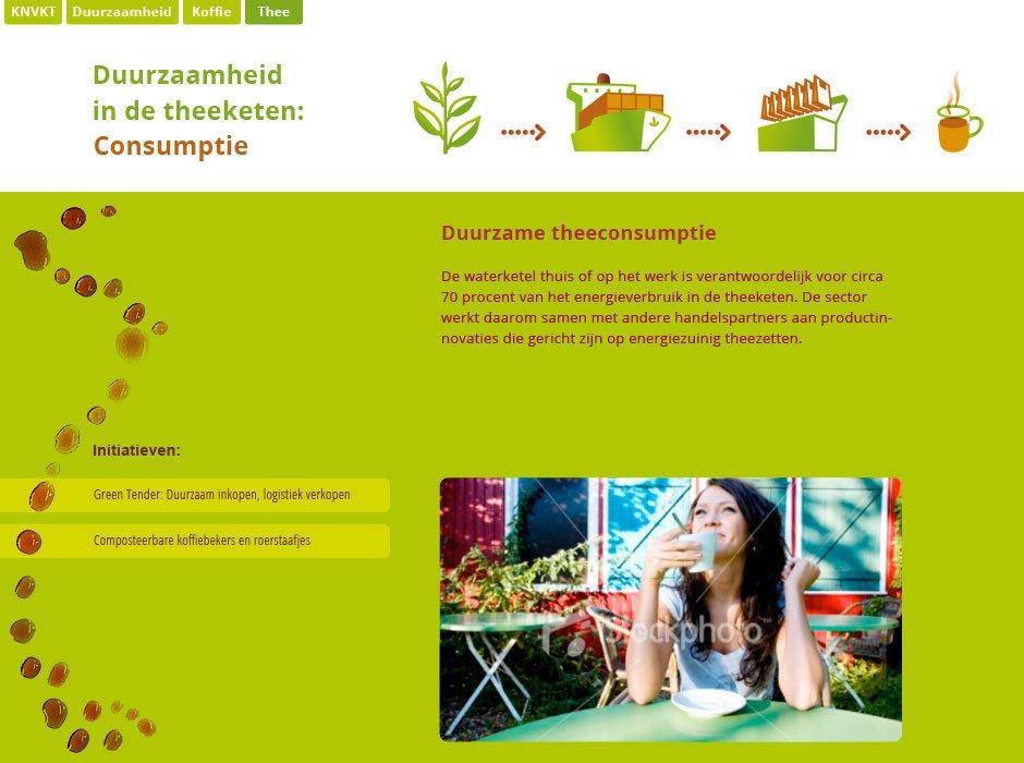 Webdesign voor de KNVKT