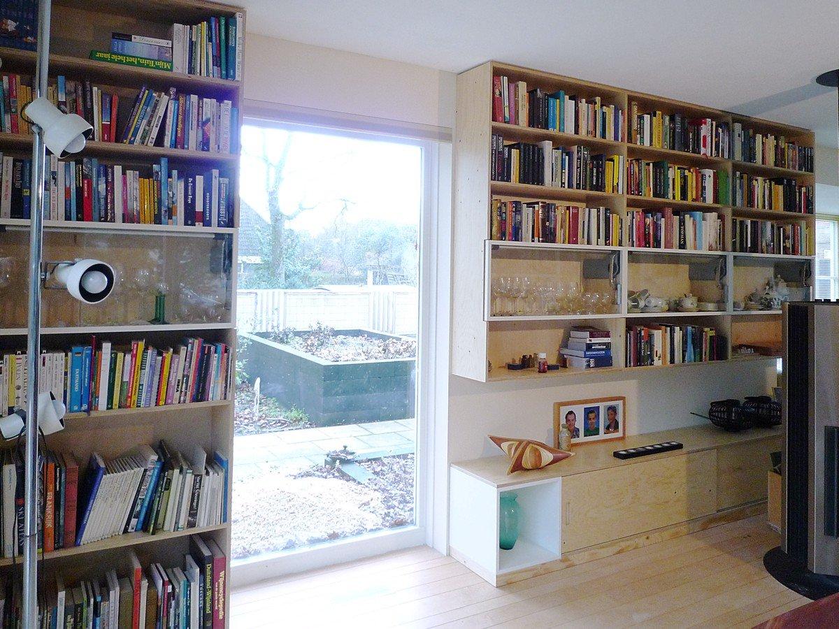 Inrichting woonhuis Rijen in underlayment en mahonie