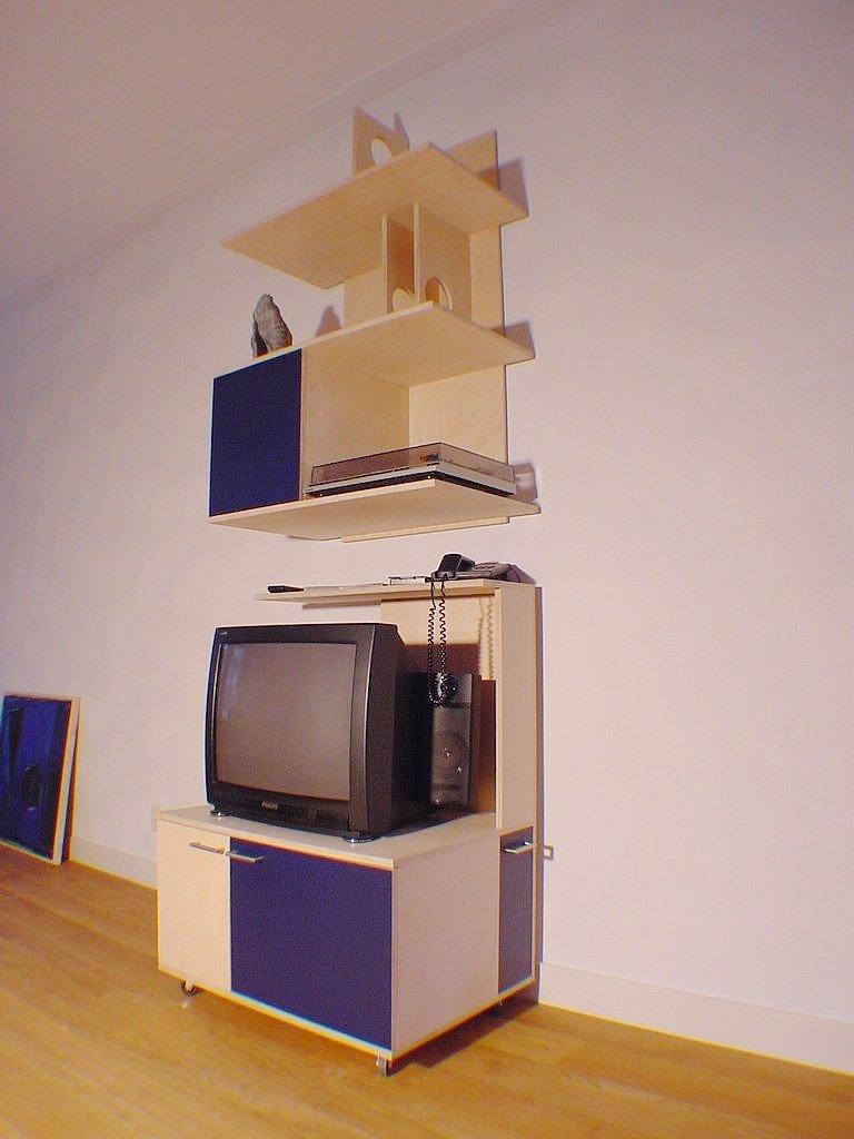 Flexibele kast voor TV en Audio