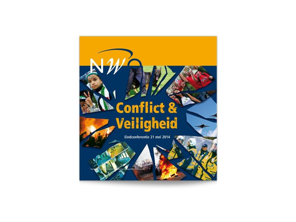 Cover van het boek Conflict & Veiligheid van NWO MaGW