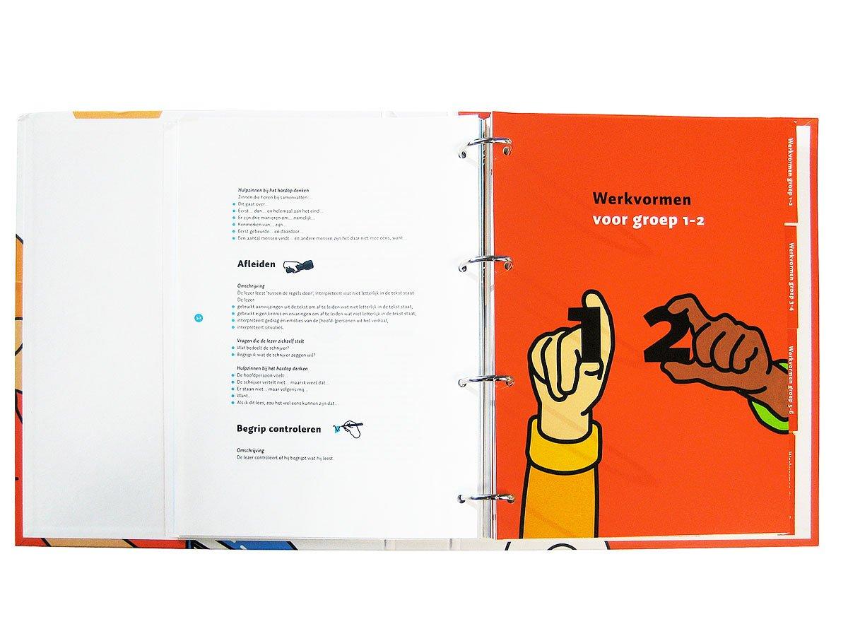 Ontwerp van een Werkmap-ringband 'Begrijpend Lezen'