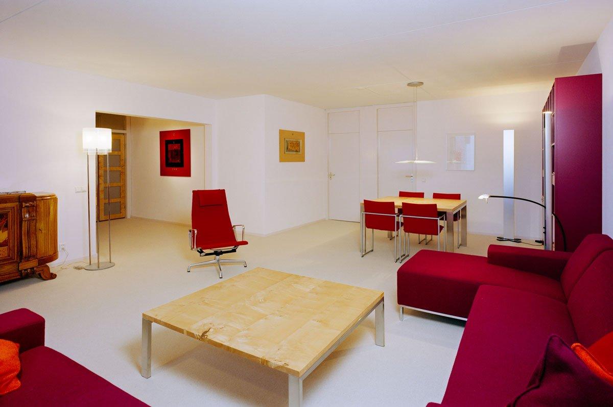 Interieur-ontwerp in massief veldesdoorn