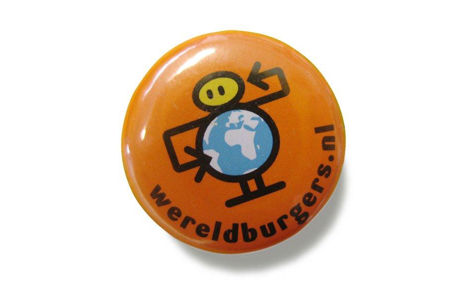 button ontwerp voor wereldburgers.nl