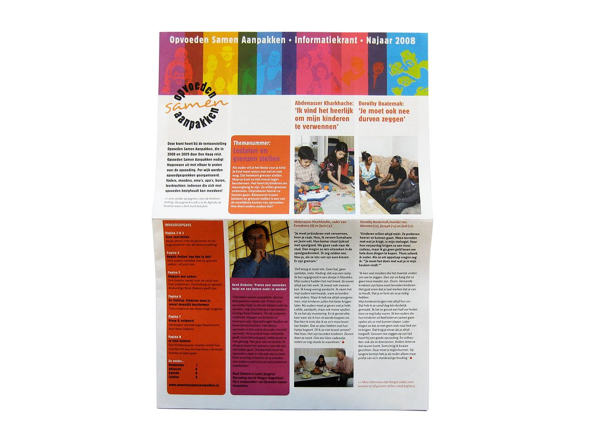 cover van de -krant-opvoeden-samen-aanpakken-OSA